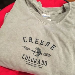 Size XL Colorado Gray Tee Shirt